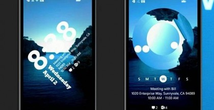 custom lock screens for Windows Phone 8.1