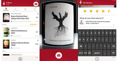Vivino Wine Scanner app for Windows Phone 8.1