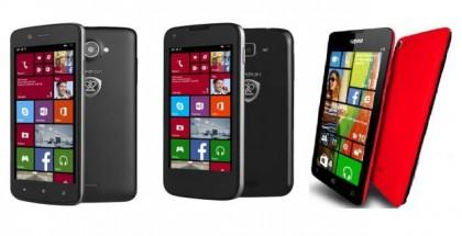 New Windows Phones 2014 - YEZZ Billy and Prestigio MultiPhone