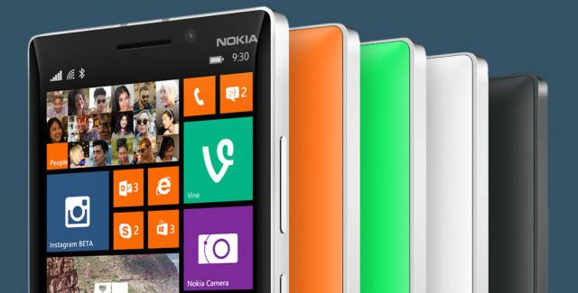 Nokia Lumia 930 all colors official press photo