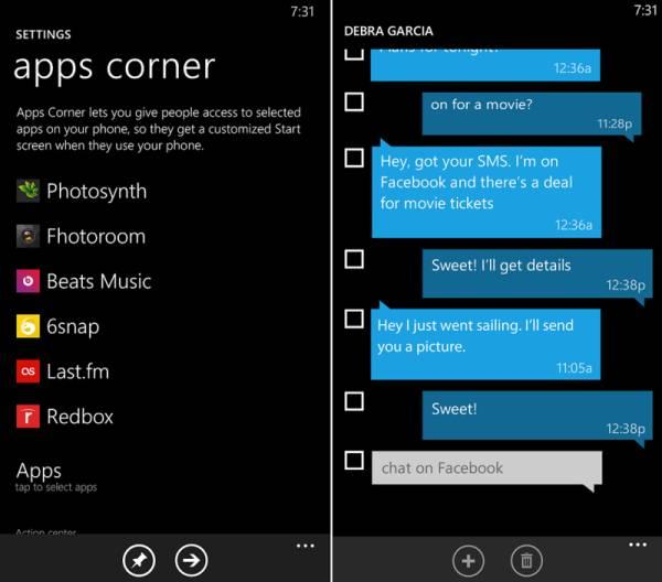 apps corner windows phone 8.1