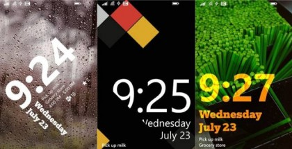 Live Lock Screen App for Windows Phones 8.1