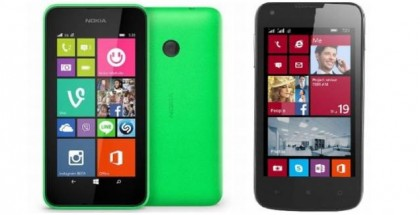 Nokia Lumia 530 vs Prestigio MultiPhone 8400 DUO