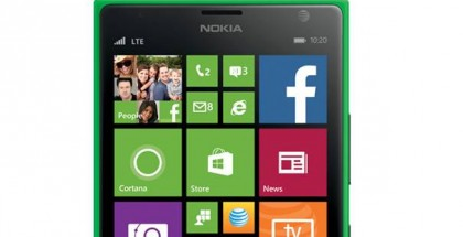 Bright green Nokia Lumia 1520 on ATT