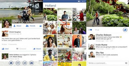 Facebook App for WIndows Phone August 2014