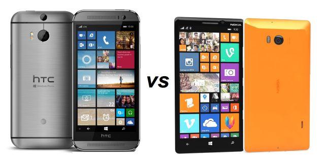 HTC One M8 for Windows vs Nokia Lumia 930/Icon
