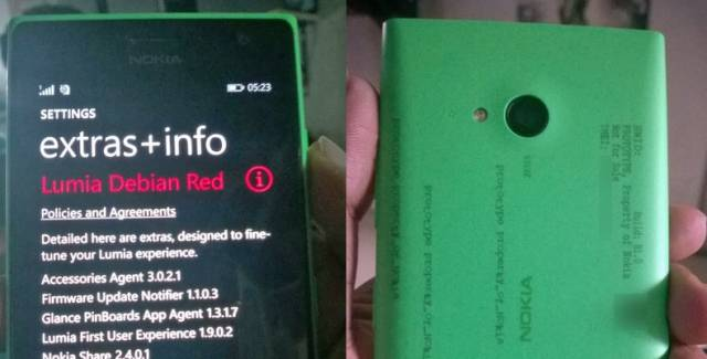 First photos of the 'Selfie Phone' Lumia 730 running new firmware