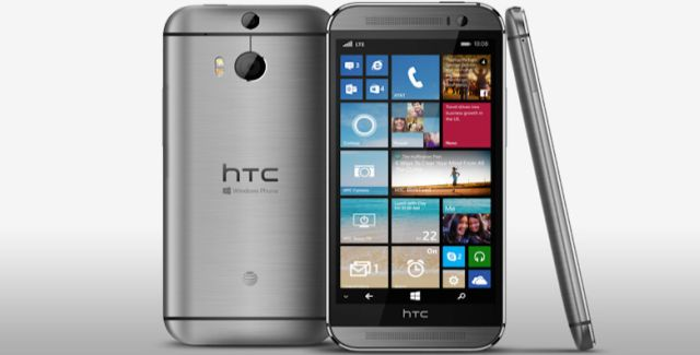 HTC One m8 for ATT with windows phone