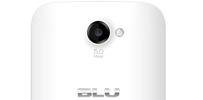 BLU Win JR camera 5MP with LED flash