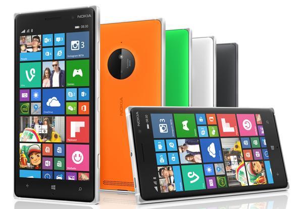 Nokia Lumia 830 line up