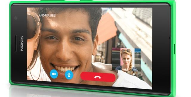 Lumia 735 Skype Call