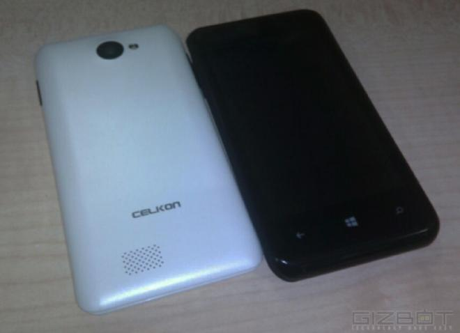 Celkon Win 400 Windows Phone
