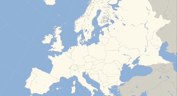Cortana Europe Map