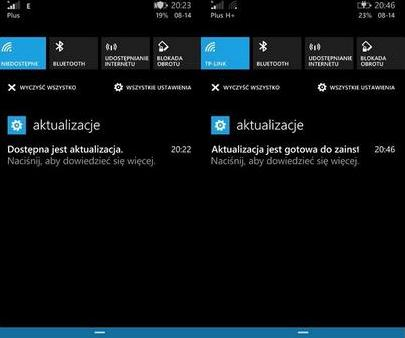 action center cortana poland