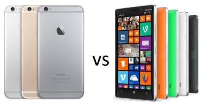 iPhone 6 Plus vs Nokia Lumia 930: specs comparison