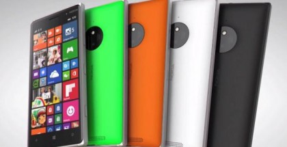 Nokia Lumia 830 all colors