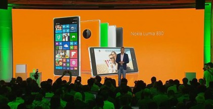 Microsoft launches the Nokia Lumia 830 and Lumia 730/735