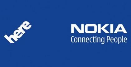 Nokia HERE logos