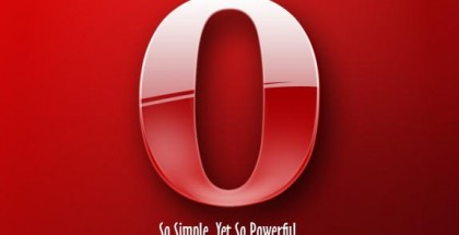 opera logo browser red