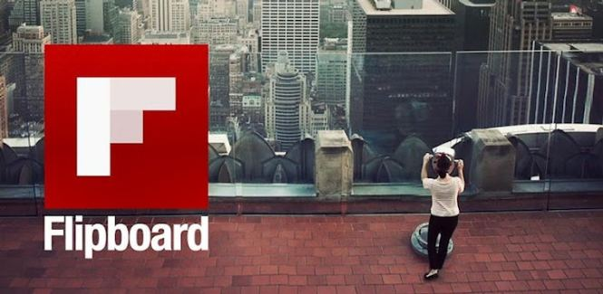 Flipboard logo windows phone