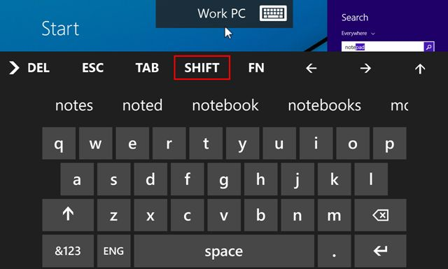 remote desktop screens app for wp81