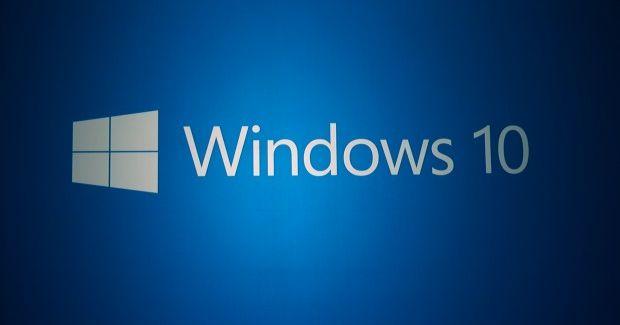 Windows 10 logo in blue