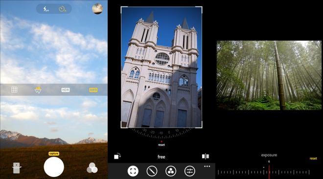 Camera360 Pro app for Windows Phone 2014 screens