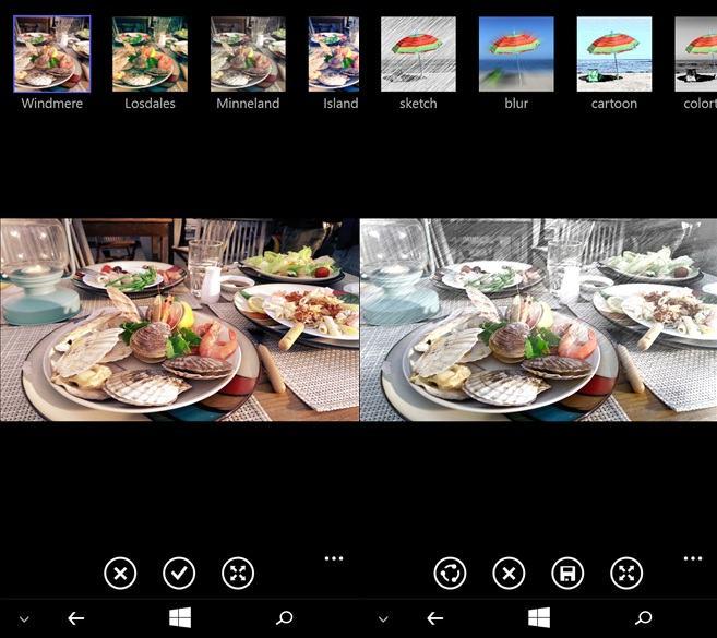 HTC Photo edit on windows phone