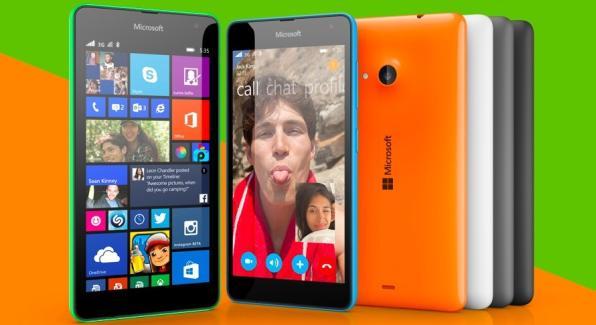 Lumia 535 official photo
