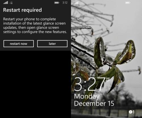 lock screen settings and photo