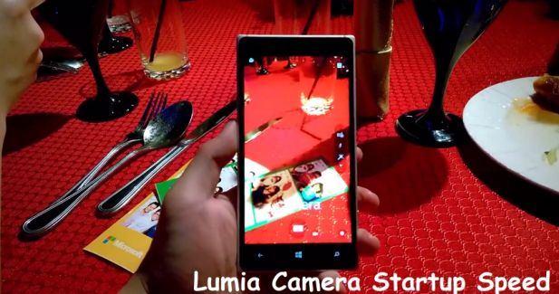 Lumia Camera 5 faster speed