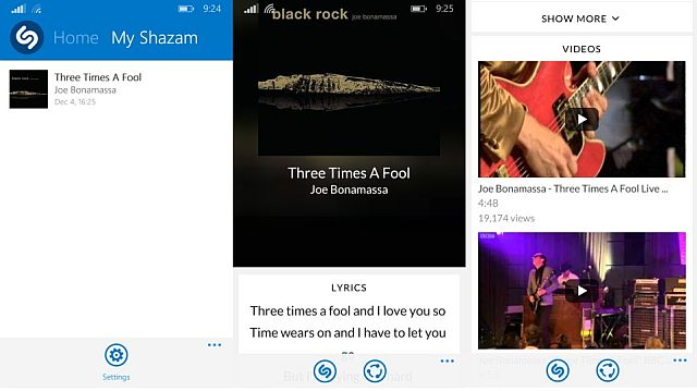 shazam 4.0 song page lyrics and videos
