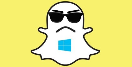 Snapchat hates windows phone
