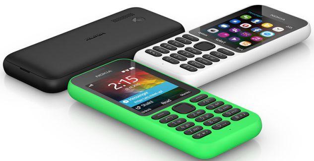 Nokia 215 press render
