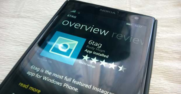 6tag for Windows phone receives a minor update