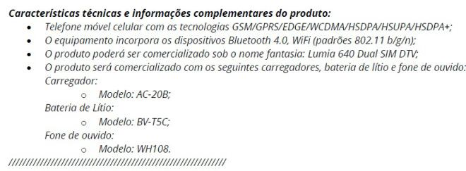 Lumia 640 leak