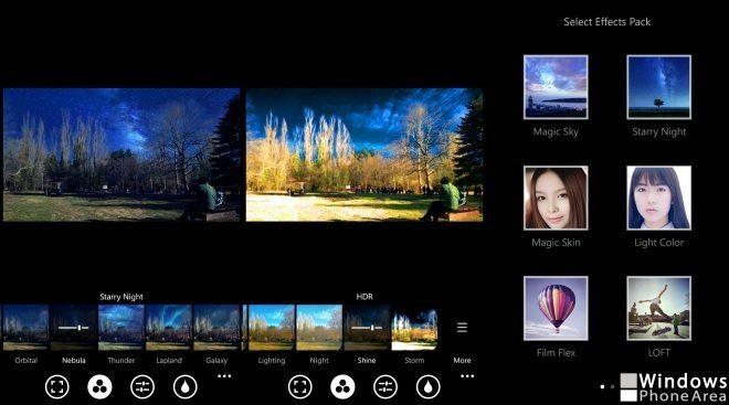 Camera360 Sight filters