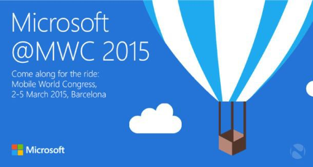 Microsoft is holding a press conference on March 2 in Barcelona