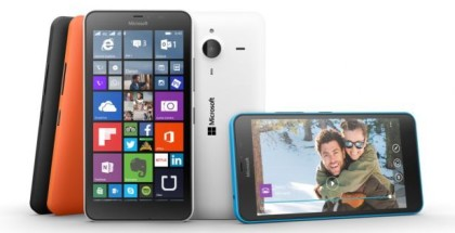 Microsoft Lumia 640 XL press image