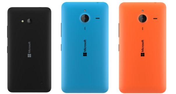 back of Lumia 640 and Lumia 640XL