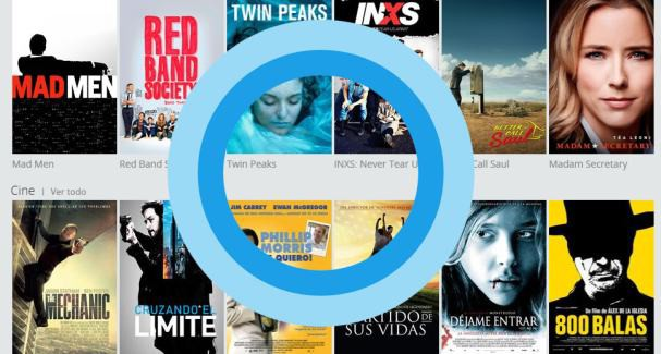 Movistar TV Go on demand Cortana logo