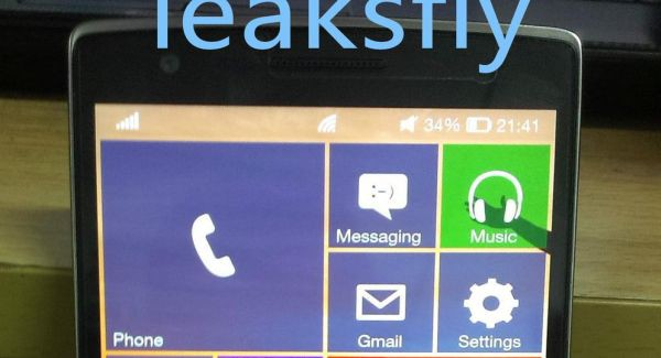 Is this the OnePlus One running Windows 10?