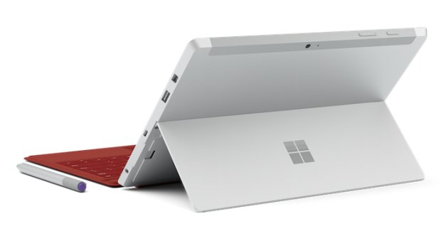 Microsoft Surface 3 Tablet back