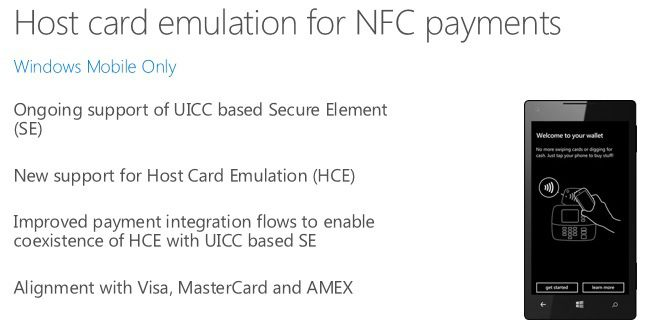 Emulator NFC Windows 10 phones