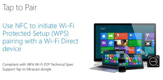 WIndows 10 nfc payments