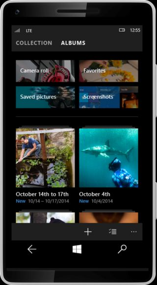 photo app for windows phone 10