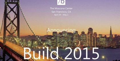 BUILD 2015 Microsoft conference