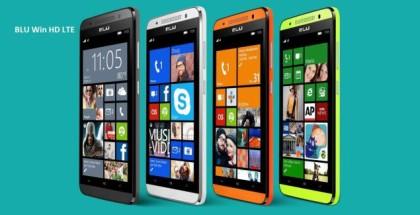 BLU Win HD LTE all colors
