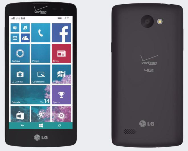 lg lancet phone for verizon wireless
