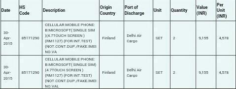 lumia 740 leak zauba